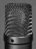 Микрофон большой студии вокальный Стоковое Изображение RF