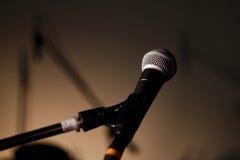 микрофон вокальный Стоковое фото RF