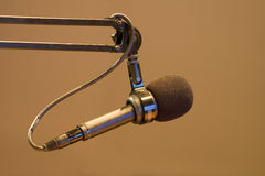 микрофон диктора стоковое фото