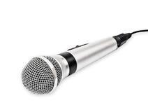 Микрофон изолированный на белизне Стоковые Фото