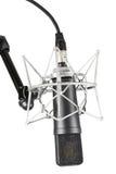 Микрофон конденсатора студии Стоковые Изображения