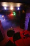 Микрофон на концерте стоковое изображение rf