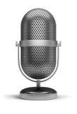 микрофон ретро Стоковые Изображения RF