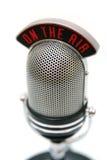 микрофон ретро Стоковые Изображения