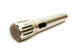 микрофон самомоднейший стоковое изображение