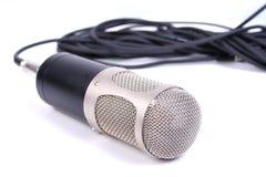 Микрофон студии Стоковое Фото