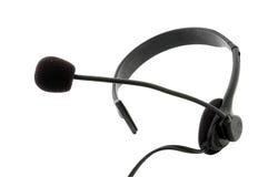 микрофон шлемофона наушников Стоковые Фотографии RF