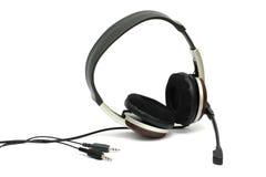 микрофон шлемофона Стоковое Изображение RF