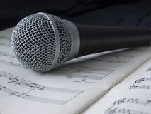 микрофон 04 Стоковая Фотография