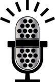 Микрофон иллюстрация вектора