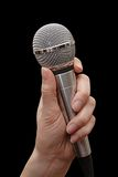 микрофон Стоковая Фотография