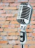 микрофон grunge Стоковые Фотографии RF