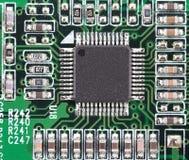 микроэлектроника стоковое изображение rf