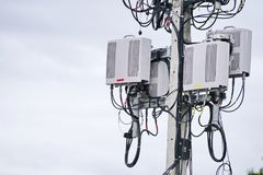 Микро- клетка 3G, 4G, 5G стоковая фотография