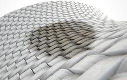 Микро- пятно Weave ткани Стоковое Изображение
