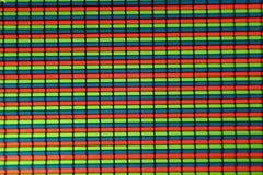 микро- фото дисплея LCD телефона Стоковое Изображение RF