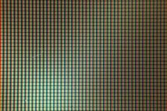 микро- фото дисплея LCD телефона Стоковое фото RF
