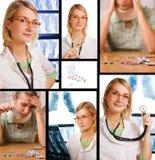микстура медицинского соревнования Стоковое фото RF