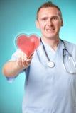 микстура сердца доктора голографическая Стоковые Изображения RF