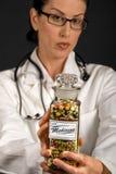 микстура s доктора стоковые изображения