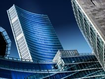 Милан, зона Lombardia, дворец правительства Стоковая Фотография
