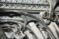 милан Италии детали собора Стоковая Фотография