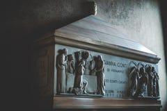 МИЛАН, ИТАЛИЯ - 10,2015 -ГО ДЕКАБРЬ: Церковь святая Mary Грейса (delle Grazie) Santa Maria, милана Стоковые Фотографии RF