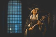 МИЛАН, ИТАЛИЯ - 10,2015 -ГО ДЕКАБРЬ: Церковь святая Mary Грейса (delle Grazie) Santa Maria, милана Стоковое Изображение RF