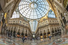 Милан Италия Стоковое Фото