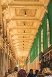 МИЛАН, ИТАЛИЯ - 13-05-2017: Galleria Vittorio Emanuele II в Mila Стоковая Фотография