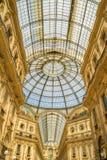 МИЛАН, ИТАЛИЯ - 13-05-2017: Galleria Vittorio Emanuele II в Mila Стоковое Фото