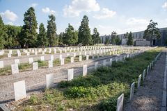 Милан кладбище musocco Стоковое Фото