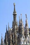 милан собора Стоковое Изображение