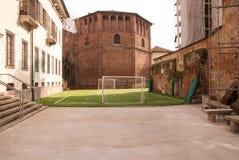 Милан, di San Lorenzo базилики della оратории Стоковые Изображения
