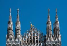 милан duomo купола собора Стоковое Изображение