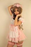 Милая азиатская девушка Стоковое Изображение RF