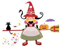 милая ведьма бесплатная иллюстрация