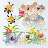 милая весна комплекта 2 Стоковая Фотография