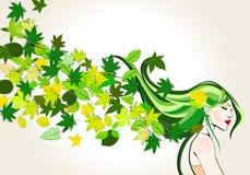 милая весна девушки Стоковое Фото