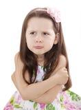 милая девушка немногая непослушное стоковые фотографии rf