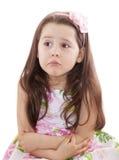 милая девушка немногая непослушное стоковое изображение rf