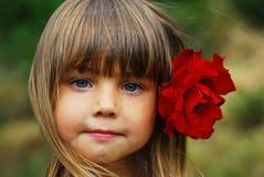 милая девушка немногая Стоковые Фотографии RF