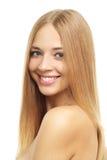 Милая девушка с длинними волосами Стоковое фото RF