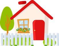 милая дом бесплатная иллюстрация