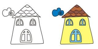 милая дом Стоковые Изображения RF
