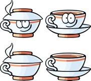 Милая еда - крышка кофе Стоковые Фото
