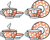 Милая еда - крышка чая Стоковые Фотографии RF