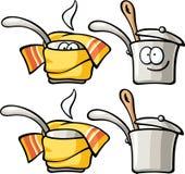 Милая еда - тушить-лоток Стоковая Фотография RF
