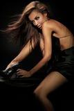 милая женщина портрета Стоковые Фотографии RF
