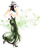 милая женщина Стоковые Изображения RF